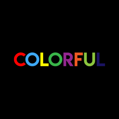 Colorful - A colorful christmas