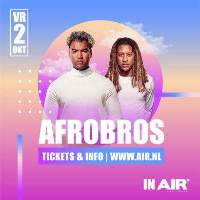 AFRO BROS IN AIR - cancelled